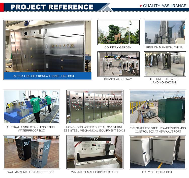 Customized metal waterproof iron project distribution box