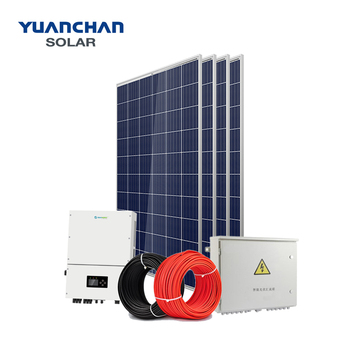 YuanChan High Quality 50kw Solar Power System