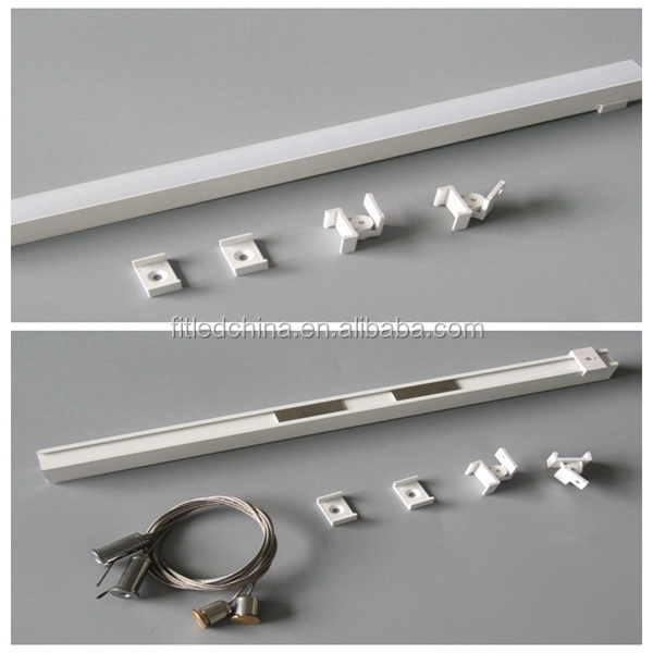 Led aluminium profile for led lighting bar stripe can be customized