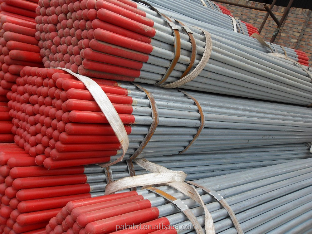 hot dip pricing list of galvanized coated steel pipes GIPP steel pipes EN10255