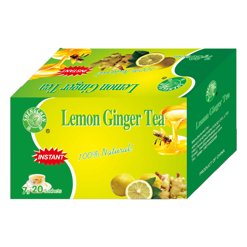 wholesaler aluminum foil tea bag packaging for instant ginger tea with honey/lemon - 4uTea | 4uTea.com