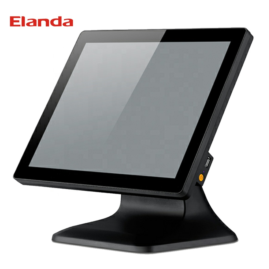 15 Inch Capacitive All In On Restaurant Pos System Machine Touch Screen Monitor Terminal