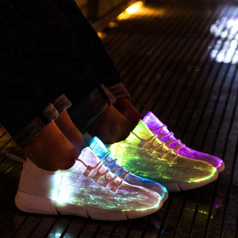 3bfc91faf Venda de fábrica por atacado led flash adulto das mulheres dos homens da  sapatilha sapatos luz