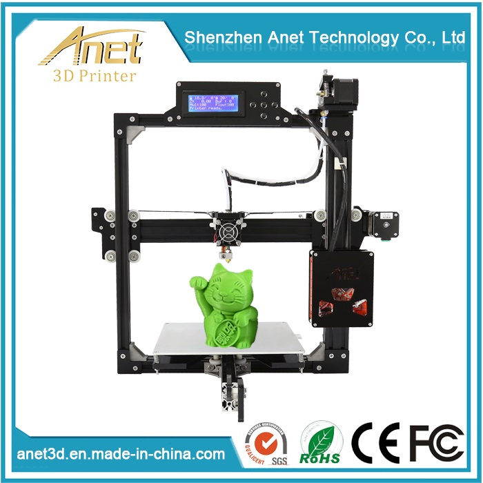 Anet Metal Frame 3D Printer with Optional Sizes, Aulto Level Fuction, Multi Usage