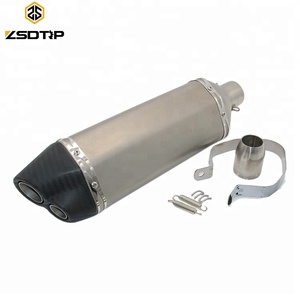 Popular Universal Motorcycle Exhaust Modified Exhaust Muffler Pipe For CBR250 CB400 CB600 YZF