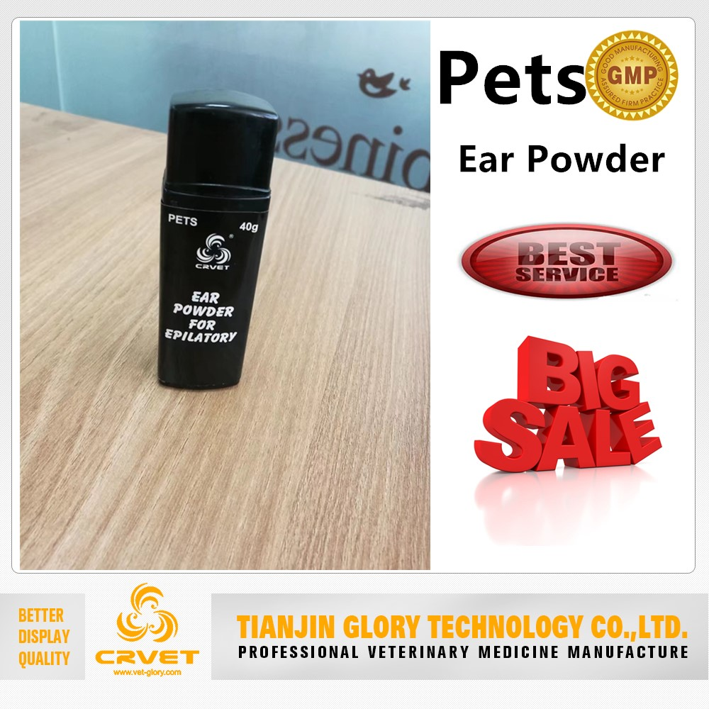 Pet Ear Powder Ear Cleaning Powder for Dogs and Cats
