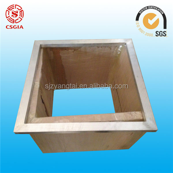 screen printing machine accessories, aluminum screen frame