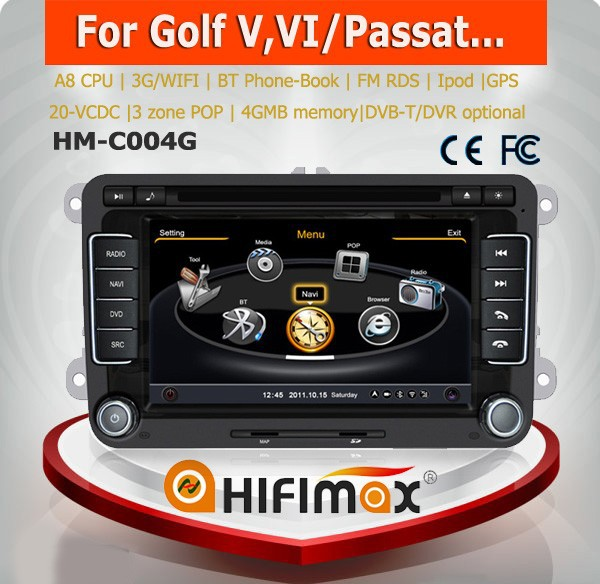 hifimax vw passat cc car audio dvd gps navigation vw. Black Bedroom Furniture Sets. Home Design Ideas