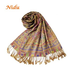 High quality hijab scarf soft feel muslim head scarf nice women shawls for gift