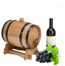 Custom Made Logo Handmade Wooden Wine Barrels for Sale