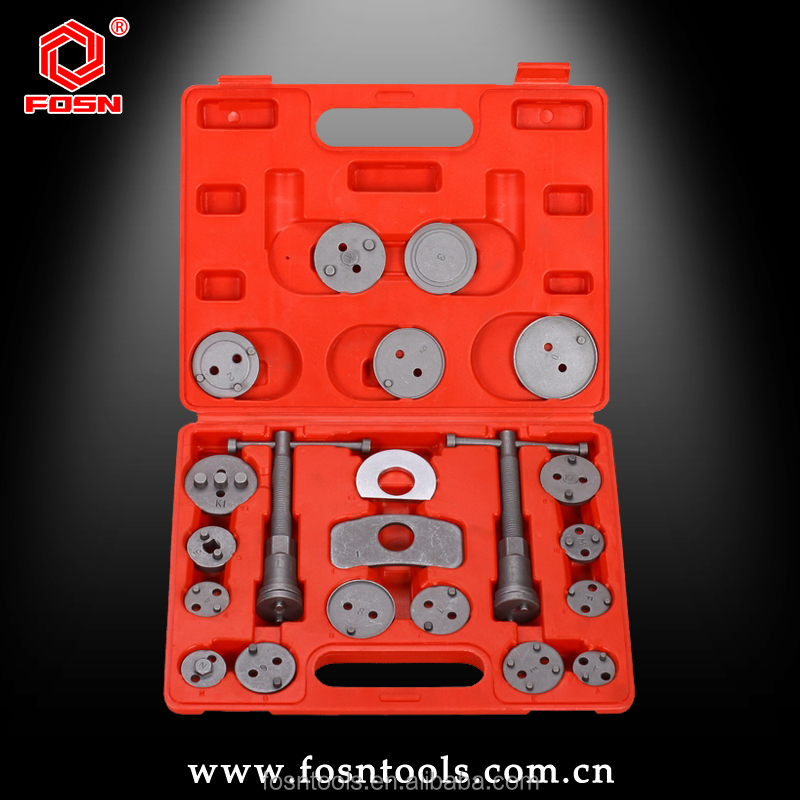 Alibaba New Product FS2415 Brake Disc Caliper Wind Back Tool Kit 21pcs Made in China