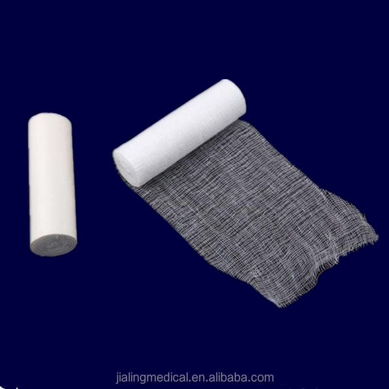 Factory Supply 100% Katoen Gaas Roll Bandage