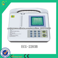 Hospital Use portátil Fácil Operated Electronic ECG máquina