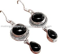 Victorian Style Oxidized Silver Jhumka 925 Sterling Silver Earring, Oxidized Silver Jewelry, Unique Silver Jewelry