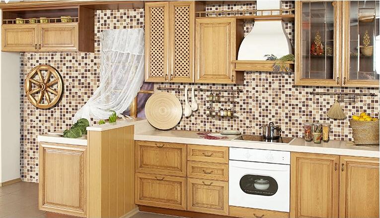 Pietra mattonelle di mosaico per cucina decorazione della for Mattonelle mosaico cucina