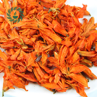 2016 new 500g Relieve a cough,Reduce blood pressure Lungs Clear Fire lilies tea scented flower Lily tea