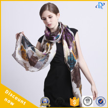 digital print custom design silk scarf silk scarf women silk scarf women