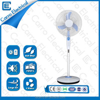 Wholesale explosion models quiet and low noise new design popular rechargeable floor 16inch fan