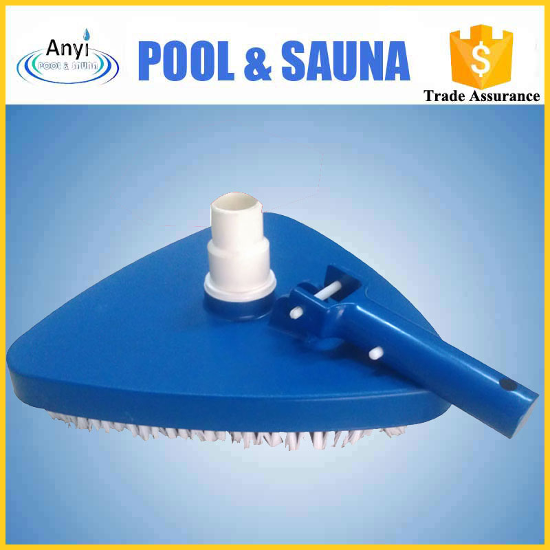 high quality swimming pool cleaner of triangular liner vac head w/swivel cuff