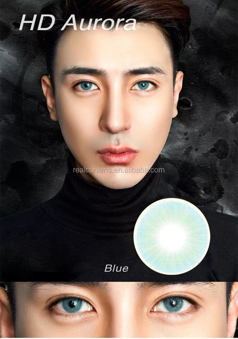 2019 Realcon European Colors Contact Lenses For Natural Eyes