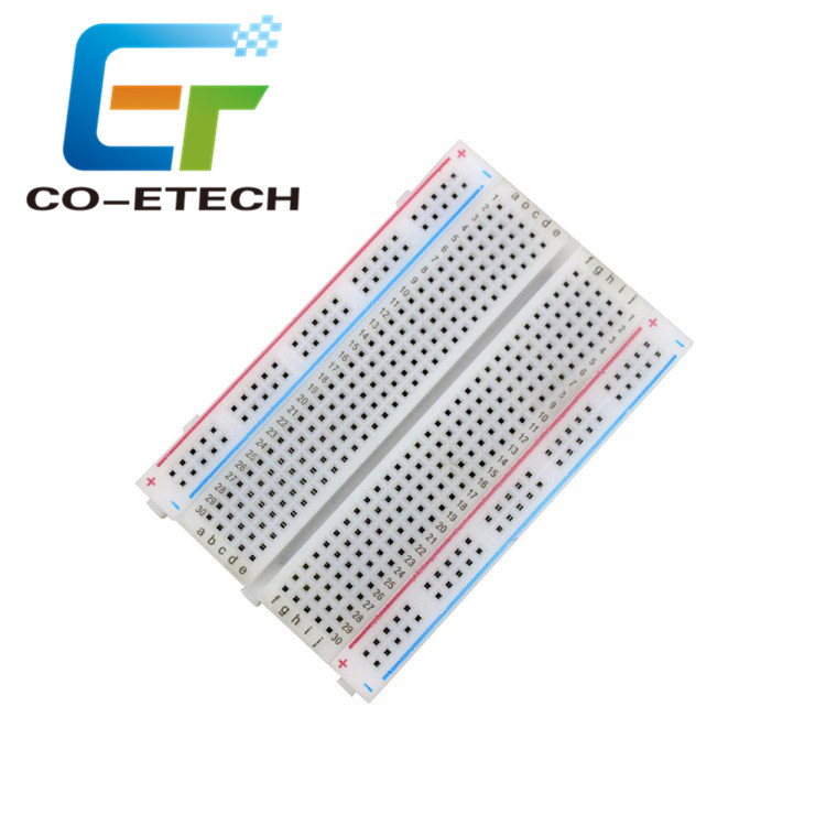 PCB 8.5cm*5.5cm Mini Breadboard 400 <strong>Holes</strong> For Testing