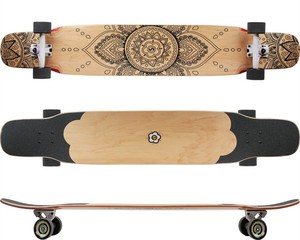 Global canadian maple plate pintail longboard complete