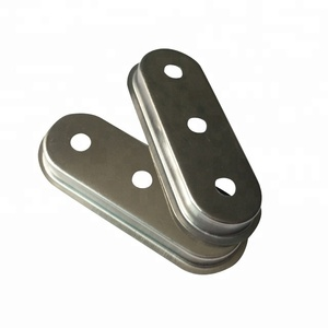 Passivated stainless steel deep drawn metal stamping part