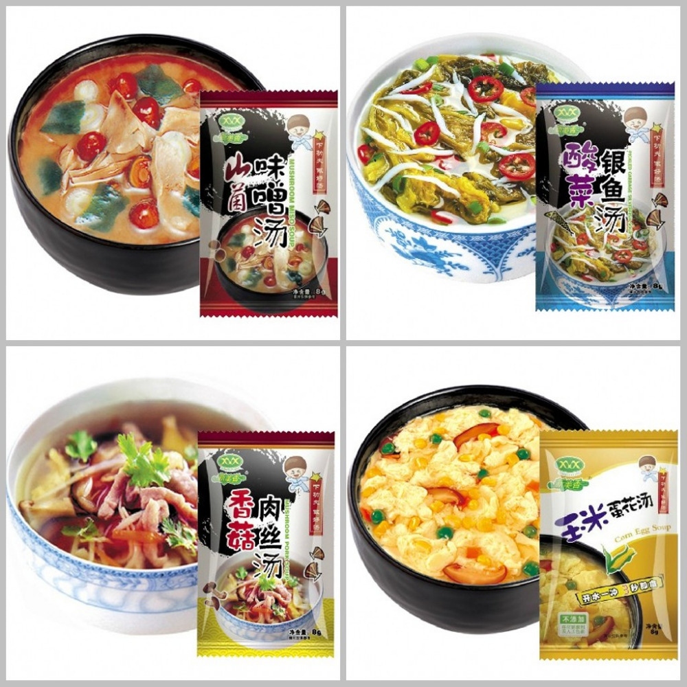 1bags (10*8g)Mushroom miso sopup ingredients vegetable