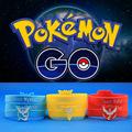 Pokemon Go team logo Bracelet silicone bracelet wholesale Mystic Valor Instinct bracelet for women and men