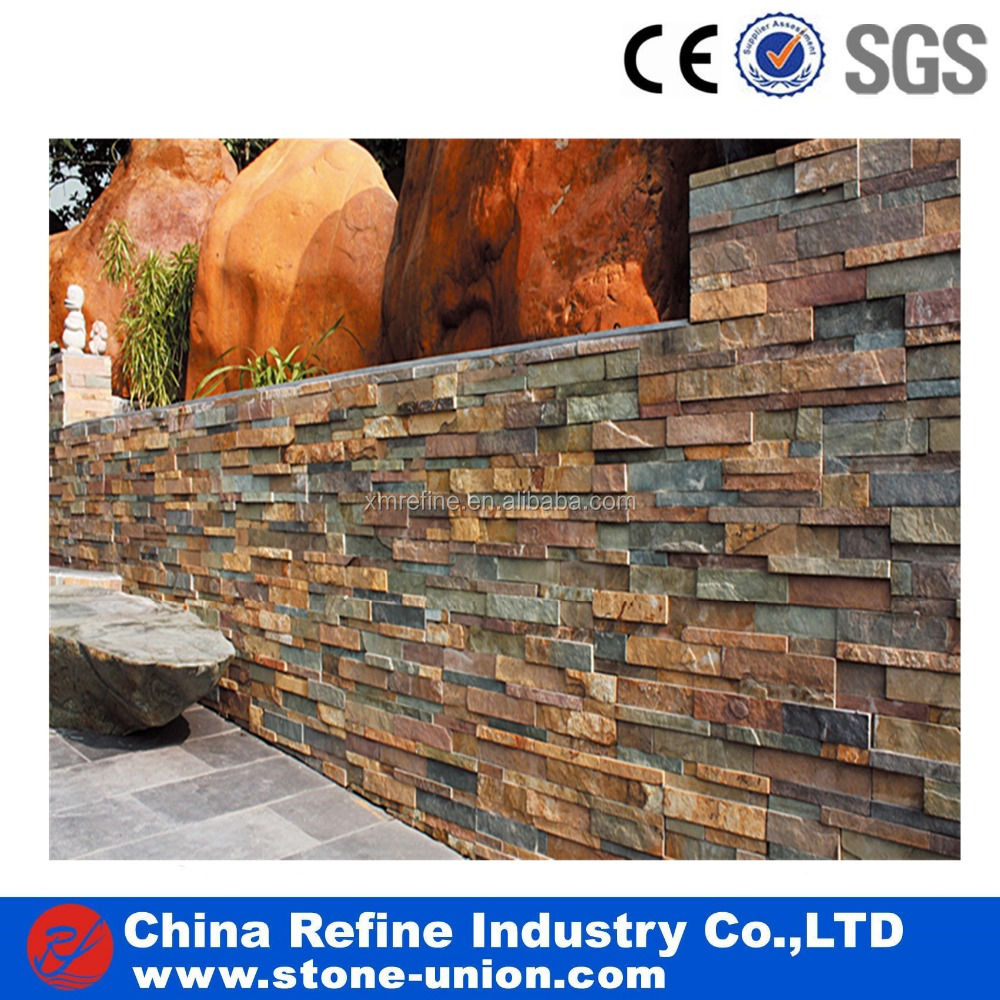 Cheap Natural Culture Stone Veneers for exterior & Interior Decoration