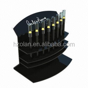 Acrylic Cosmetic Display Stand Eyebrow Pencil Holder for Supermarket