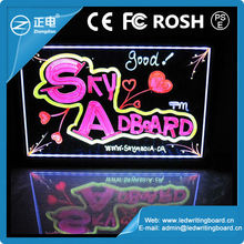 2012 New Neon Advertising Sign Led Board Led Writing Board