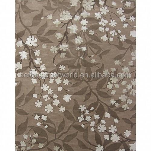 Modern New Pattern Non Toxic Handtufted Woolen Carpet With Factory Price Wool And Rug Wall To