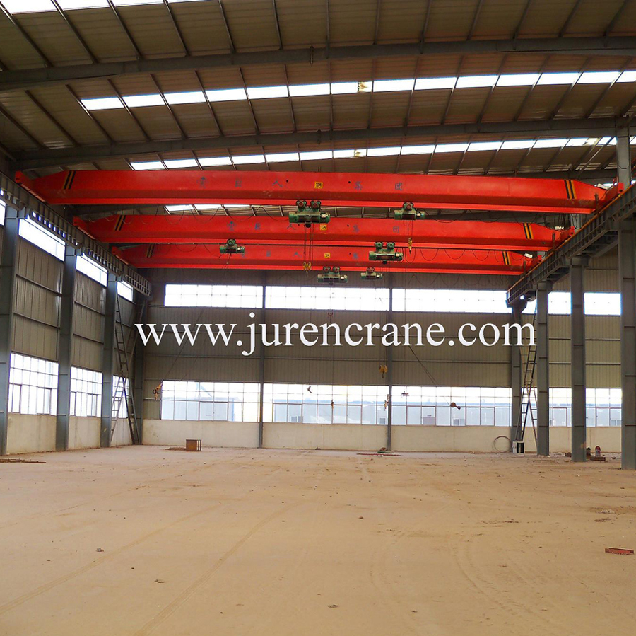 steel factory single beam overhead bridge crane