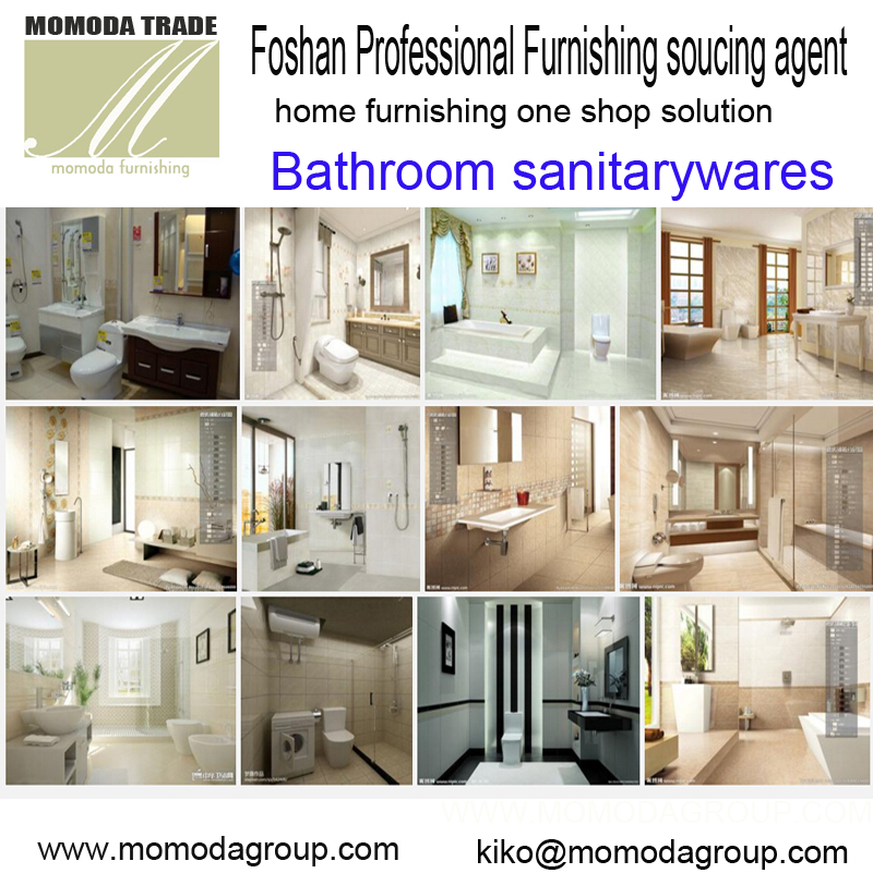 Professional Foshan sanitaryware furniture ceramic tiles decorations wholesale market visit one -stop solution agent serivce