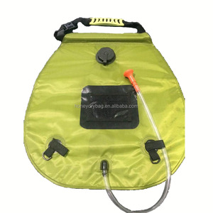 New Outdoor Camping Hiking 20L / 5 Gallons Solar Energy Heated Camp Shower Bag High quality PVC Water Bag