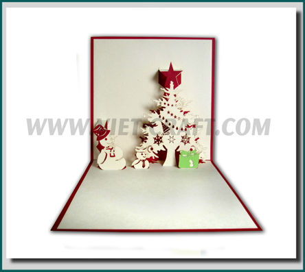 tarjetas navidad pop up nios tarjetas navidad pop up - Tarjeta De Navidad En 3d