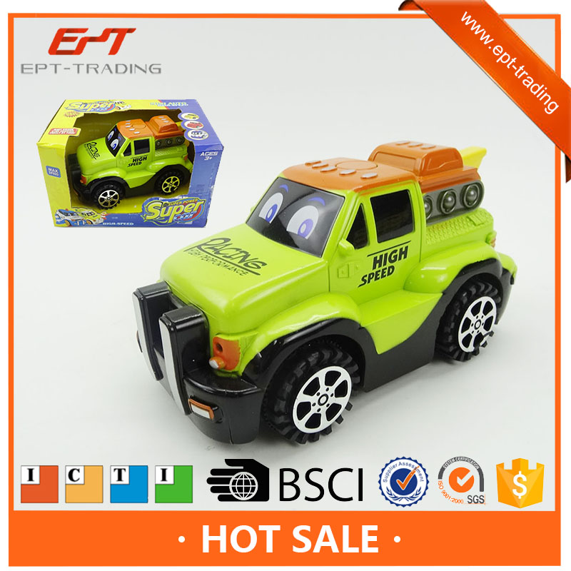 2016 Hot style powered friction toy small plastic toy cars for kids