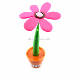Petal shaped Eco smart pen promotion ballpoint pen flower ballpen