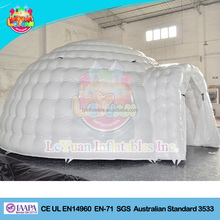 Factory Price 6 Meters Inflatable Party Dome Tent