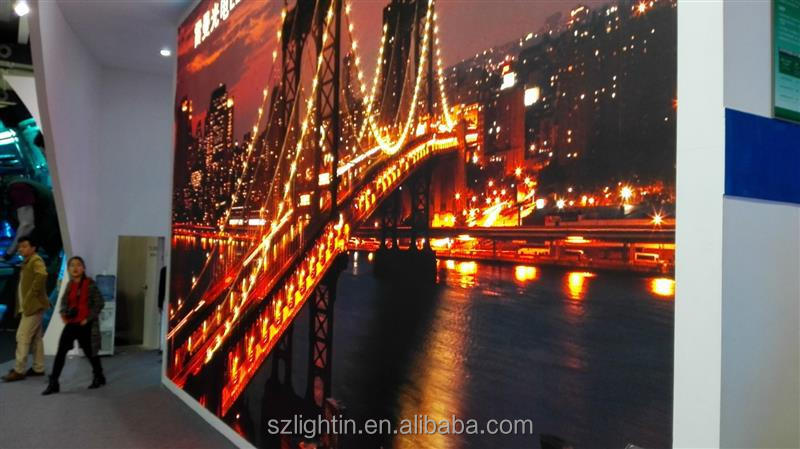 Black based SMD led full color video price tag display