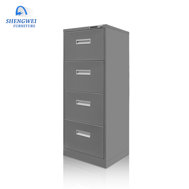 2018 Hotsale Customized Office Metal File 4 Drawer Cabinet Steel Drawer  Cabinet