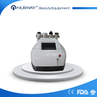 Ultrasound Cavitation + Radio Frequency body slimming machine salon use clinic beauty machine