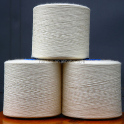 Big Exporter Paper Cone Ring Slub Yarn Factory Sell Sock Manufacturer 65/35 Cotton Polyester Blended Yarn