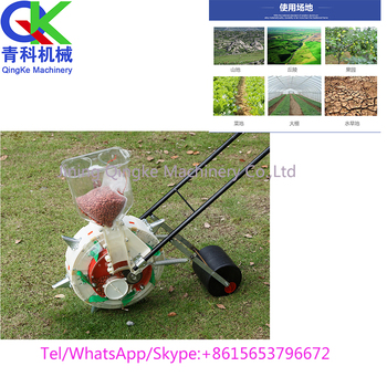 Manual Vegetable Seed Planter Hand Push Corn Seeder Factory Sale