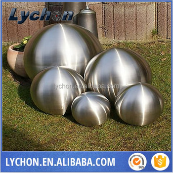 Small Decorative Balls Prepossessing 300Mm Matt Surface Hollow Stainless Steel Small Decorative Ball Review