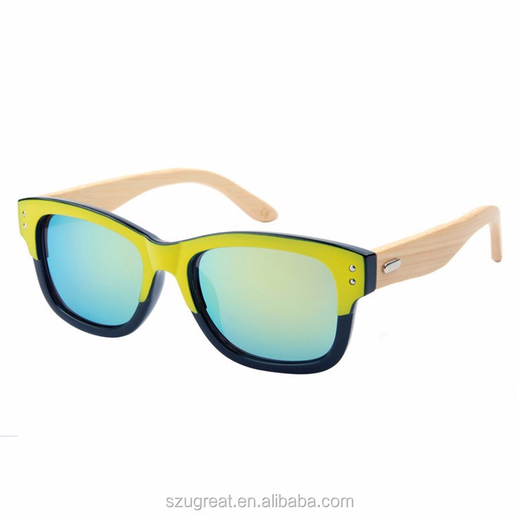 In stock Good Quality Hot New bamboo Sunglasses,Natural Wooden Sunglases