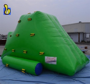 0.9mm PVC Tarpaulin Inflatable Iceberg Water Park Toys With Factory Price