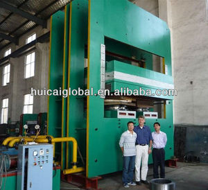 used for rubber conveyor 1600*1600 large plate vulcanizing press(Hydraulic press) with CE ISO9001