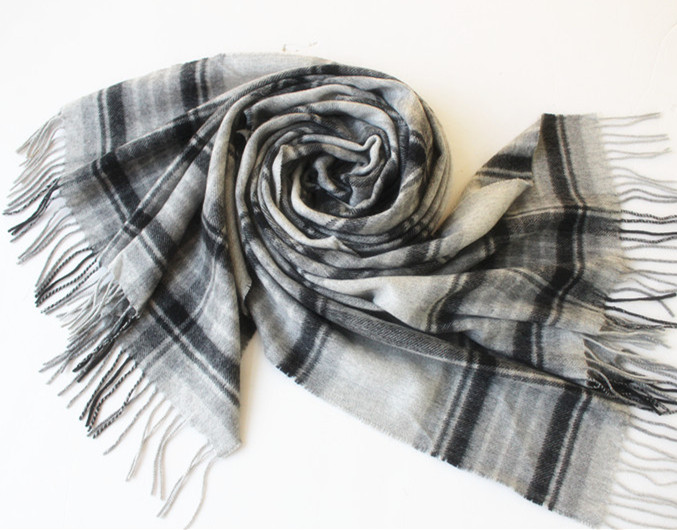 New Design 100 % Cashmere MEN And Women Lattice Scarf